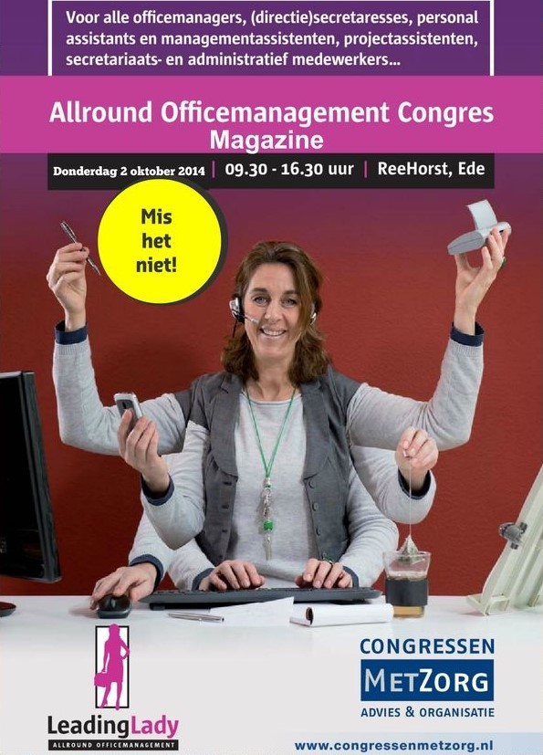 Cover Magazine Allround Officemanagement Congres